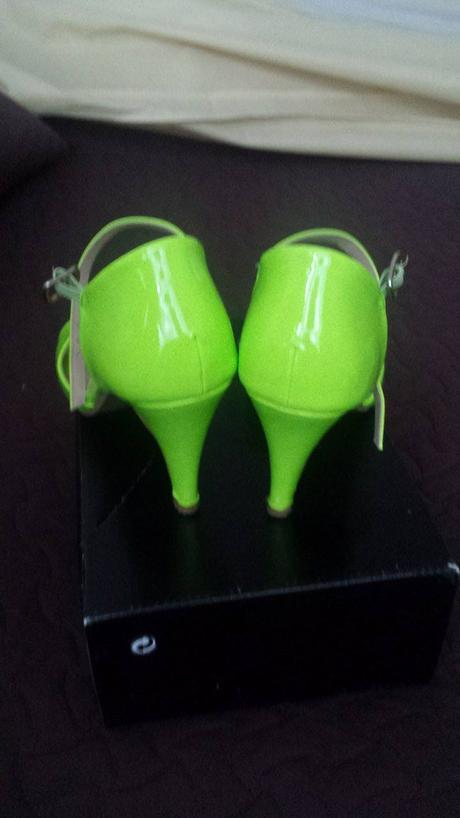 Zelené svadobné topánky, 39