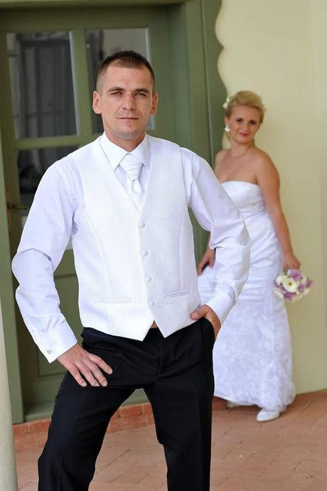 Svadobné oblečenie  pre ženícha, 42