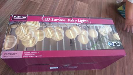 Světelné lampióny,