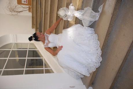 Prodám svadobnie saty vel 38 - 42, 40