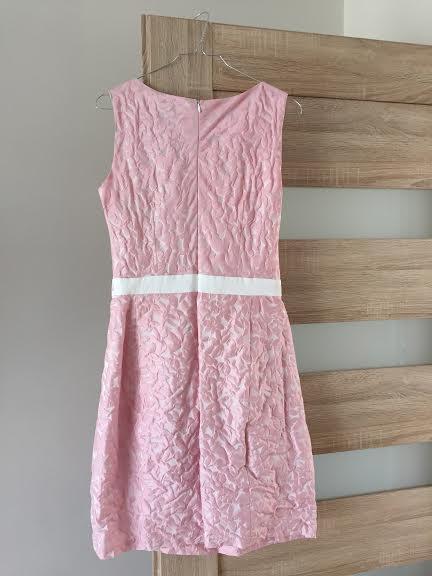 krátke šaty bez rukávov s vreckami, 38