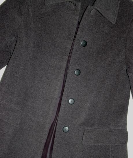 Elegantný kabát 2x oblečený, 38