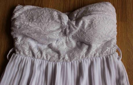Biele šaty, nenosené, 36