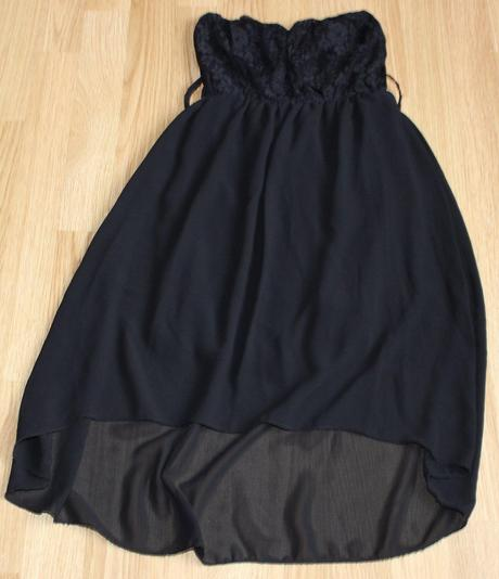 Čierne šaty, nenosené, XS