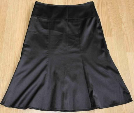 Elegantná saténová sukňa, 36