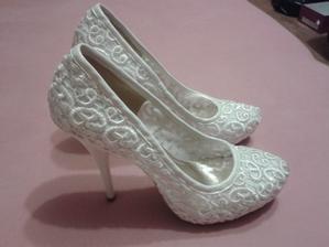 Biele svadobné lodičky, 36