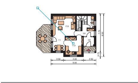 Výhodne projekt domu Perla od Prodom ,