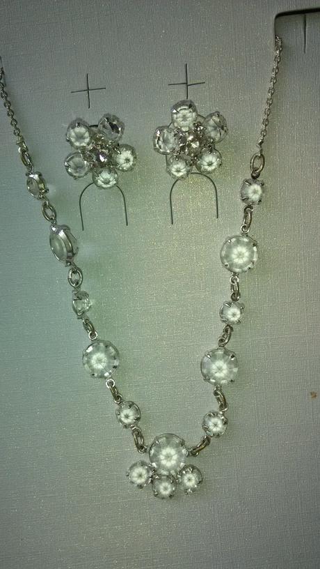 Sada náhrdelníku a náušnice,