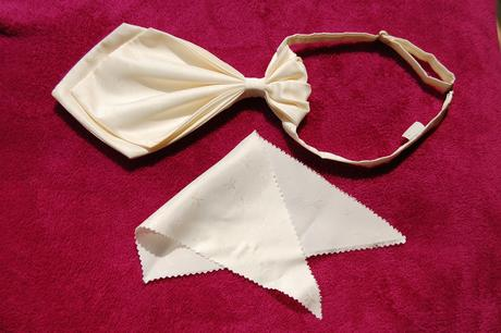 Francouzská kravata + kapesníček,