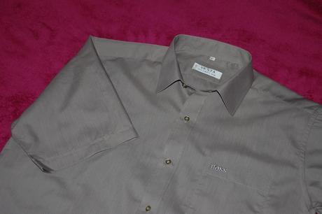 Šedo-béžová košile, vel. 41, 40