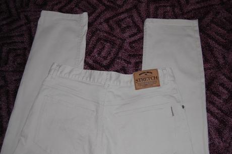 Značkové světlounce béžové kalhoty 34-36, XL