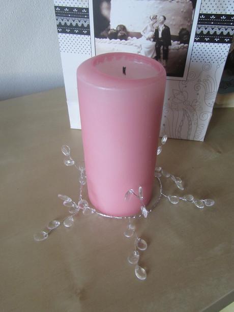 Dekorace k svíčkám / svícnům,