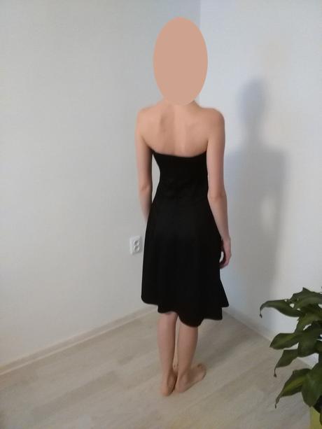 Čierne šaty 36-38, 38