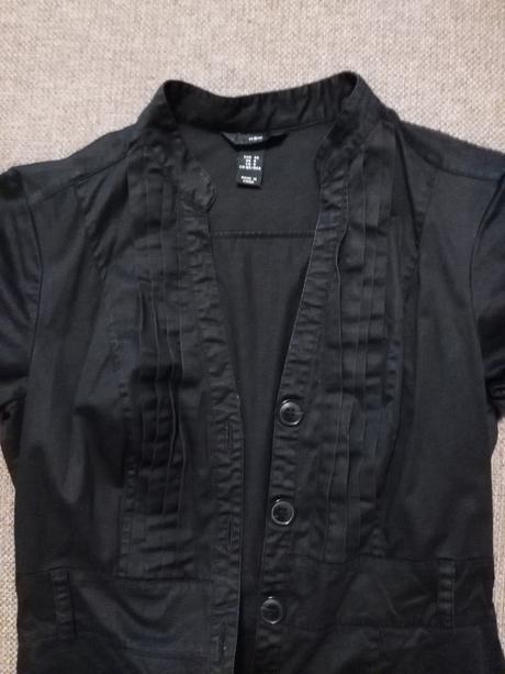 Čierne šaty - neformálne, 36