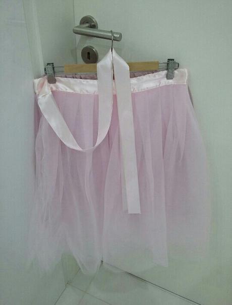 Zavinovacia tutu sukňa, M