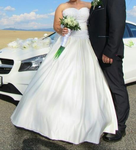 Svadobné šaty  38-40-42 , 38
