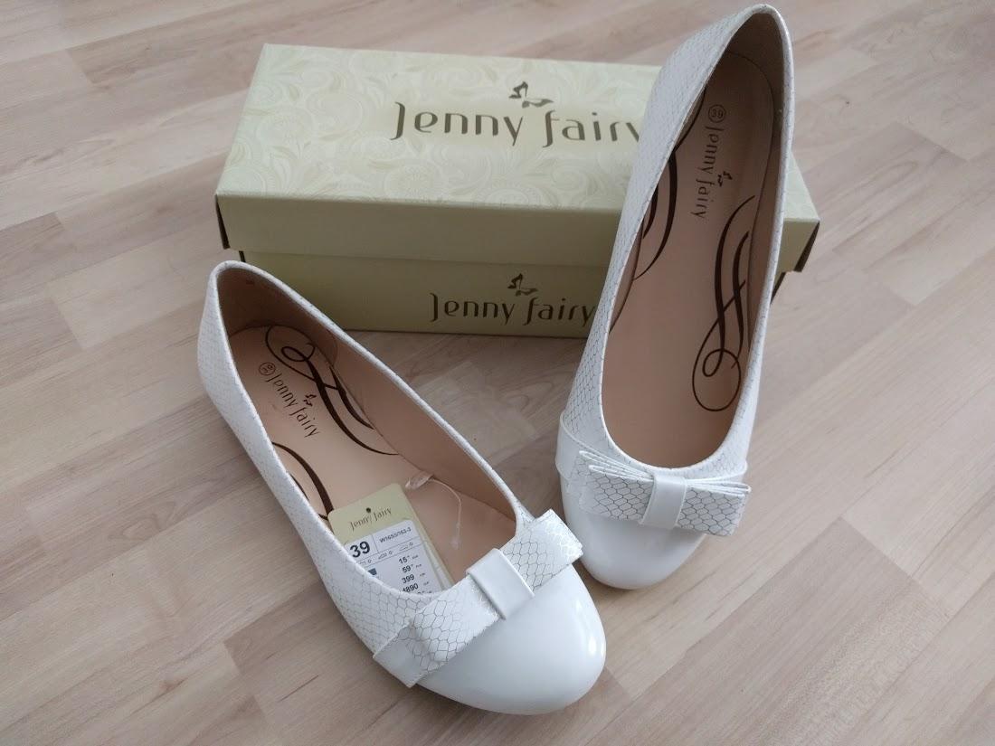 Bíle balerínky značky ccc - jenny fairy 629014c6d6