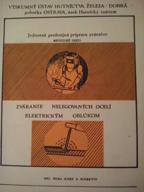 Kniha zváranie nelegovaných ocelí el.oblúkom,
