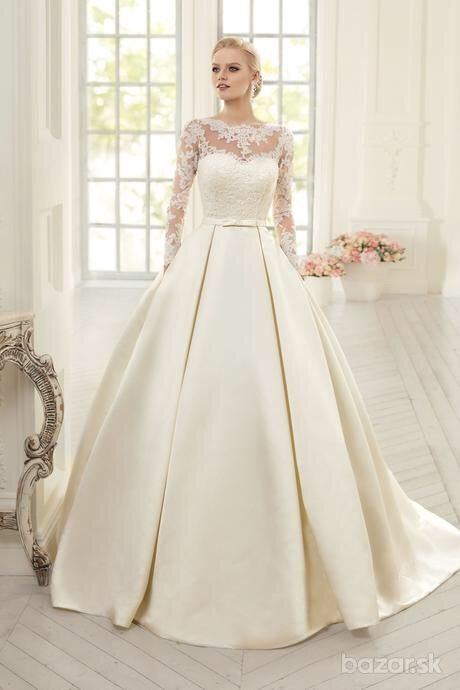 Svadobné šaty veľkosť 36-38, 38