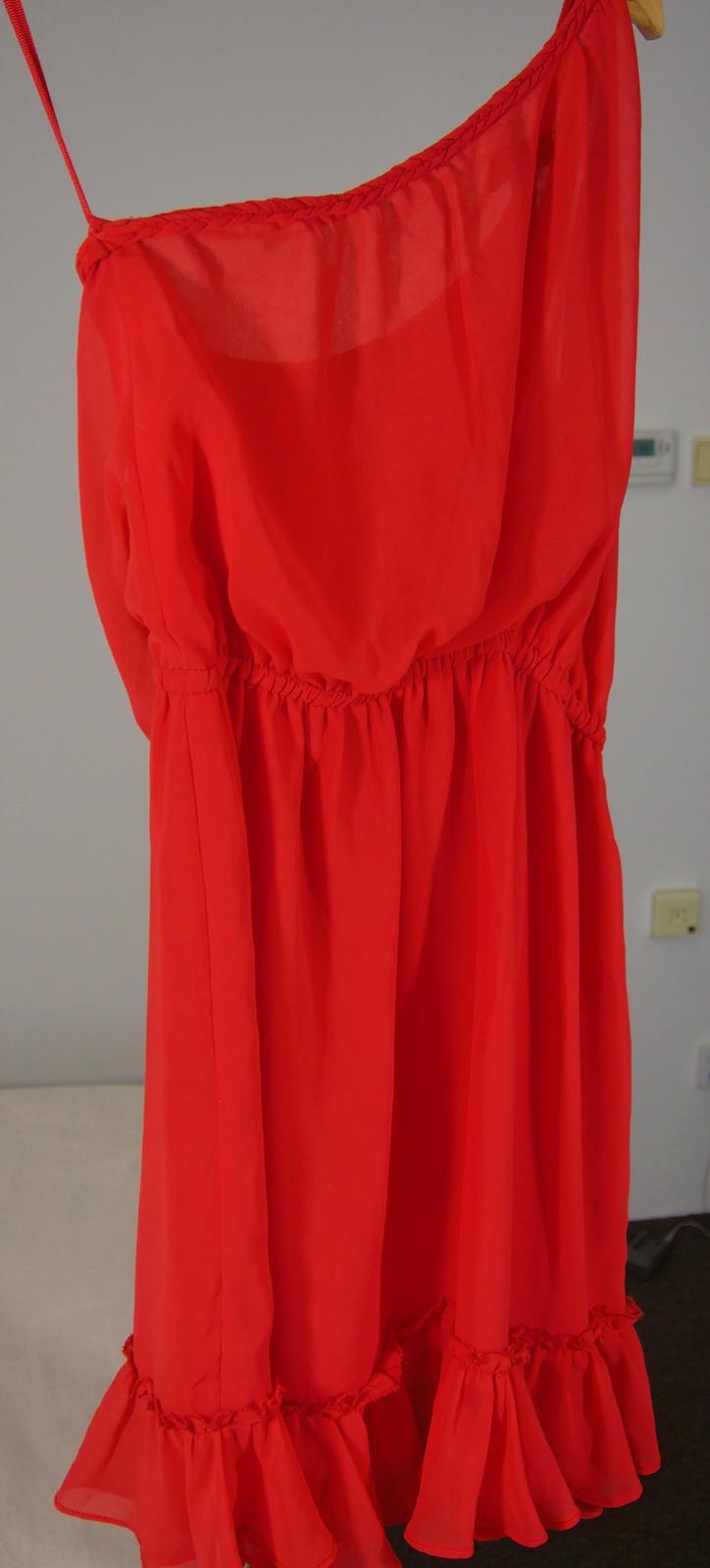 8456240120ee Červené šaty mango - veľ. s