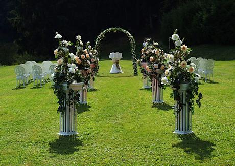 Kvetinové brány - prenájom,