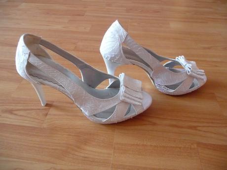 Svadobné topánky biele., 38