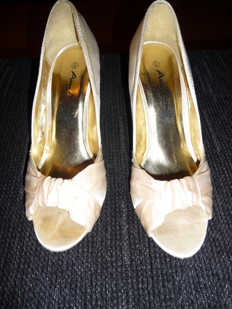 Svadobné topánky krémové., 39