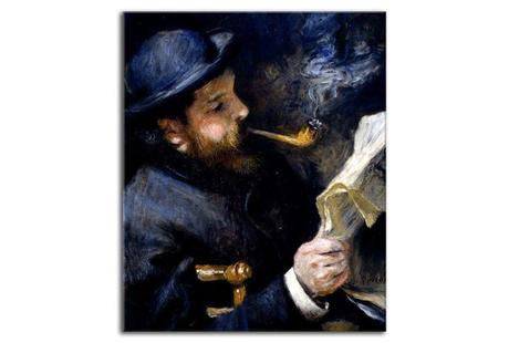 Obraz - reprodukcia Claude Monet Reading zs18061,