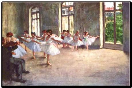 Obraz - reprodukcia Edgar Degas The Rehearsal,