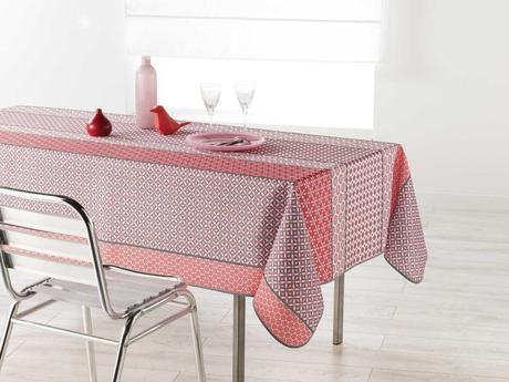 Vzorovaný obrus pink,
