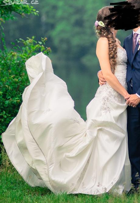 Svatební šaty paris 34-40, 38
