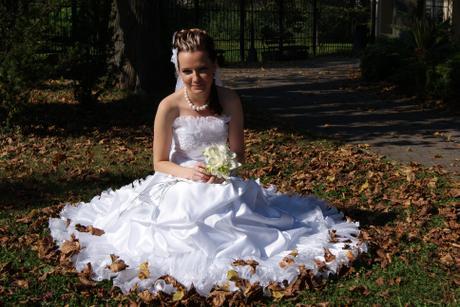 ca1eeb15011b Predam krasne svadobne saty