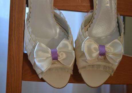 Klipy na boty, dvojitá mašle,
