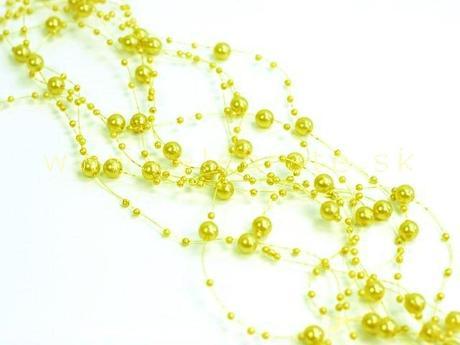 Perličky na silikóne,15 farieb,
