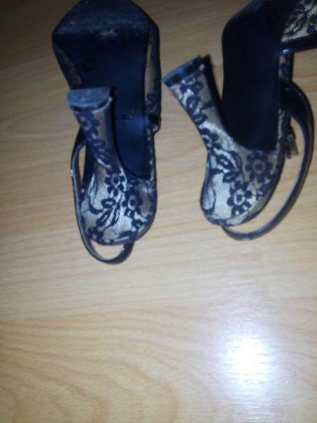 dámske krajkové topánky, 39