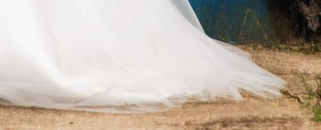 Svadobné šaty pre moletku vo farbe ivory, 48