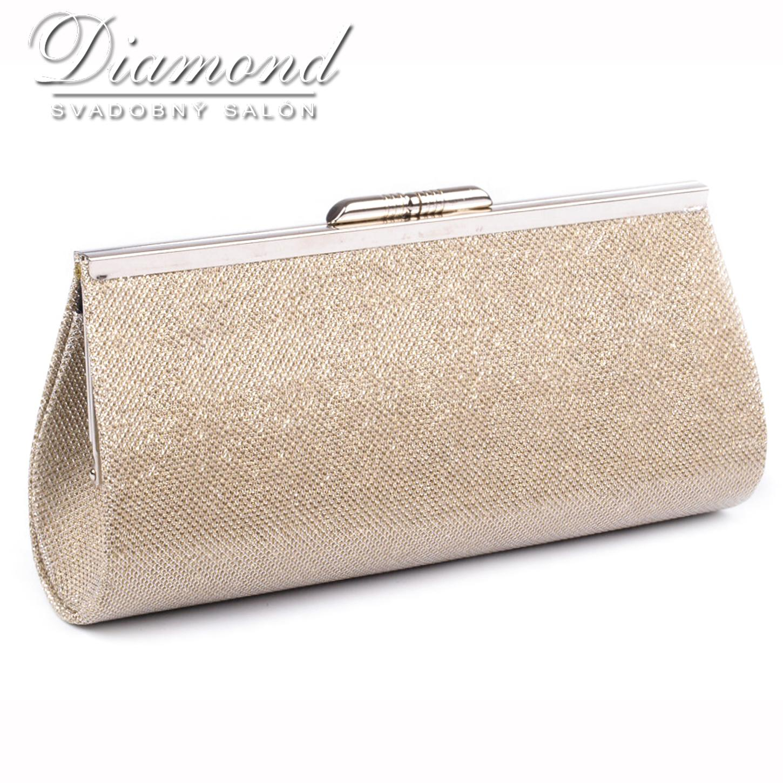 d63f722dec Zlatá listová kabelka