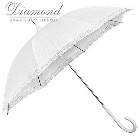 Čipkovaný dáždnik,