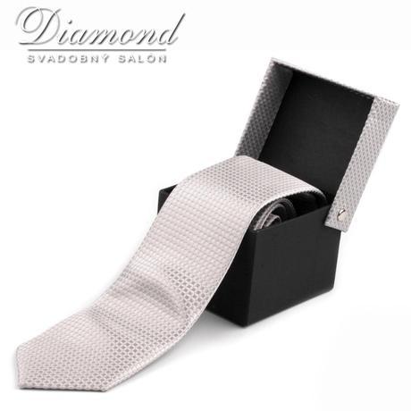 Elegantná kravata so vzorom,