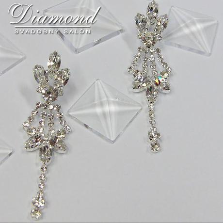 Elegantný náhrdelník a náušnice,