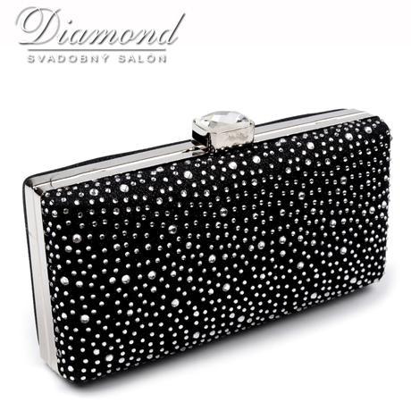 Luxusná lurexová kabelka,