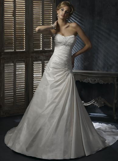 Maggie Sottero- model Amanda, 40