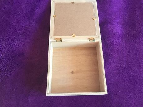 šperkovnica/dekoračná krabička,