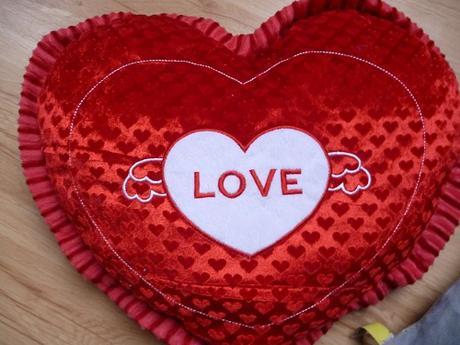 vankúšik Love,