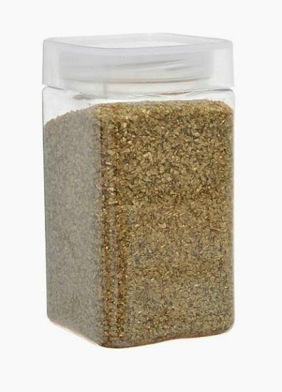 Kryštalický piesok zlatý 500g,