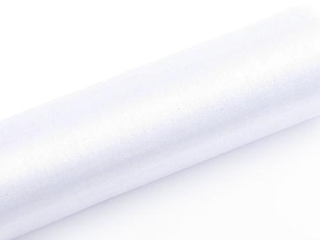 Organza biela 16cm/9m,