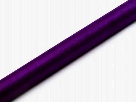 Organza fialová 36cm/9m,