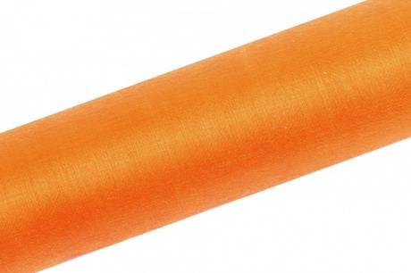Organza oranžová 16cm/9m,