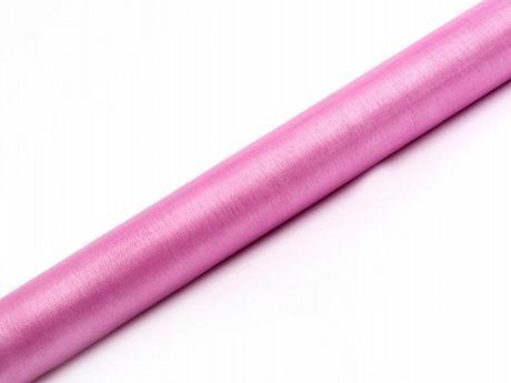 Organza ružová 36cm/9m,