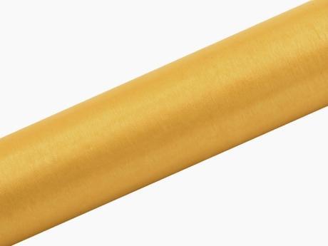Organza zlatá 16cm/9m,